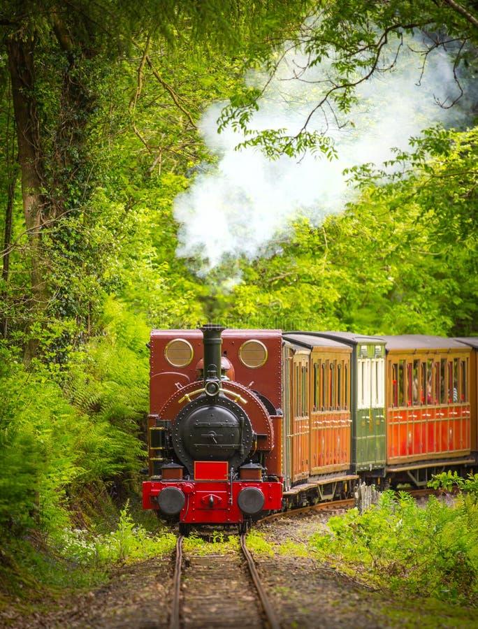 Tren del vapor del vintage imagen de archivo. Imagen de wales - 56029465