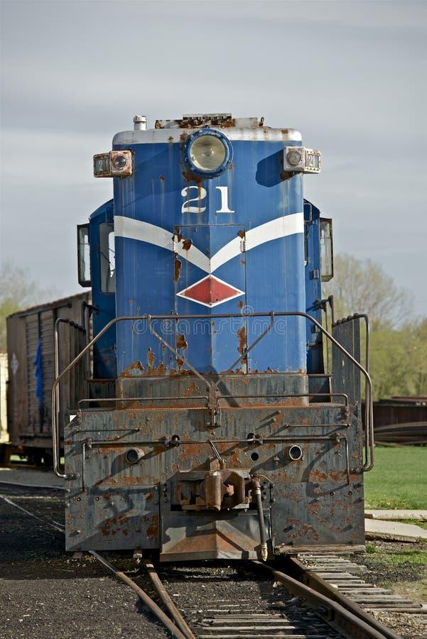 Tren Del Vintage En Illinois Fotografía de archivo