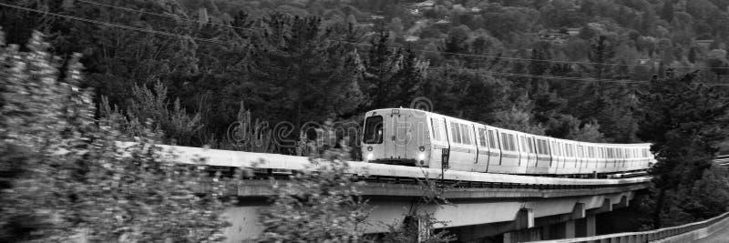 Tren en California foto de archivo
