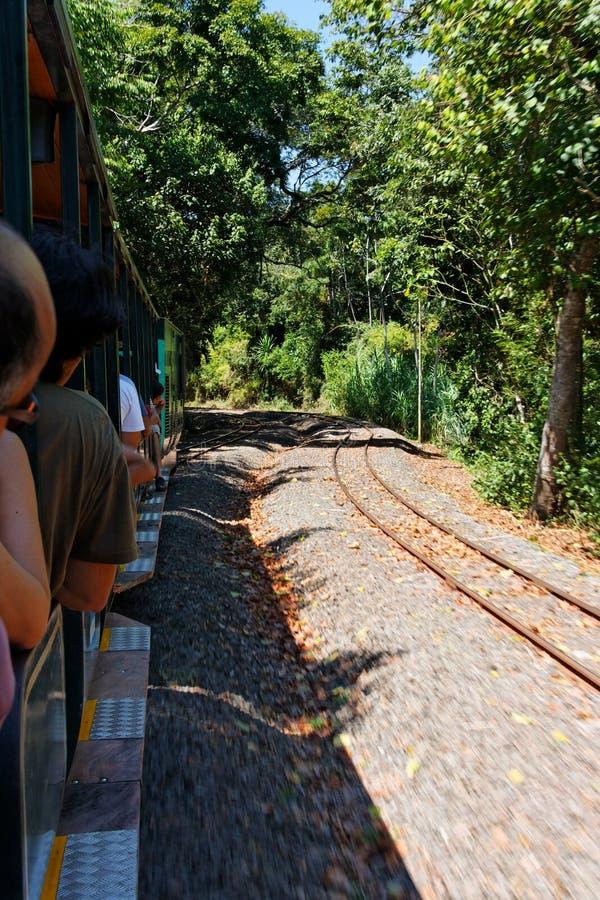 Tren en Iguassu fotos de archivo libres de regalías