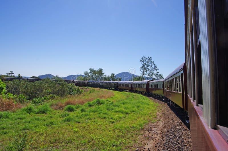 Tren escénico de Kuranda en Australia fotos de archivo libres de regalías