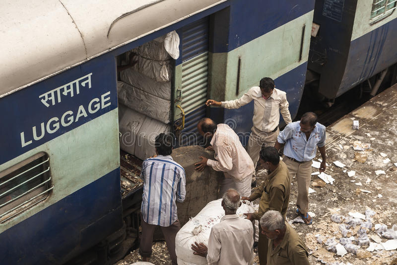 Tren indio fotos de archivo