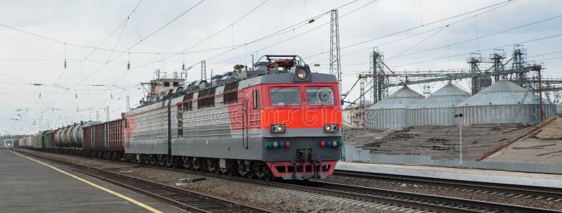 Tren móvil fotografía de archivo