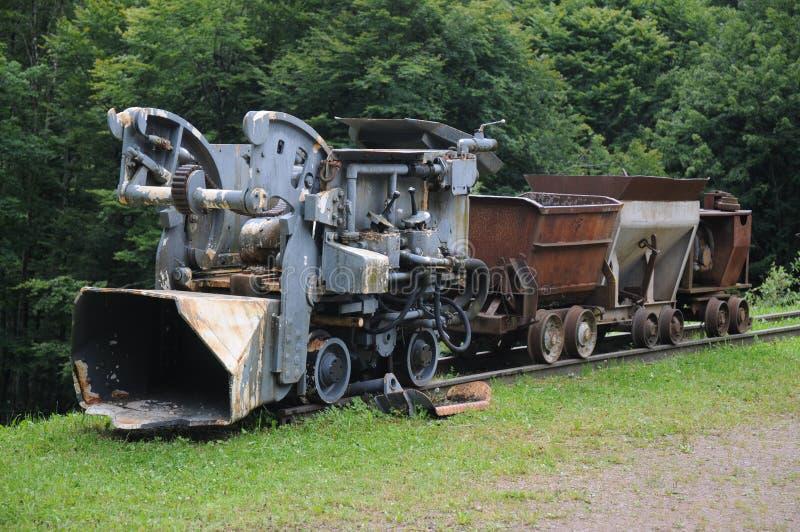 Tren minero fotografía de archivo