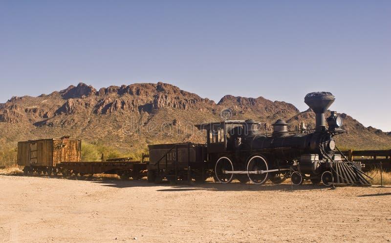Tren occidental viejo fotos de archivo libres de regalías