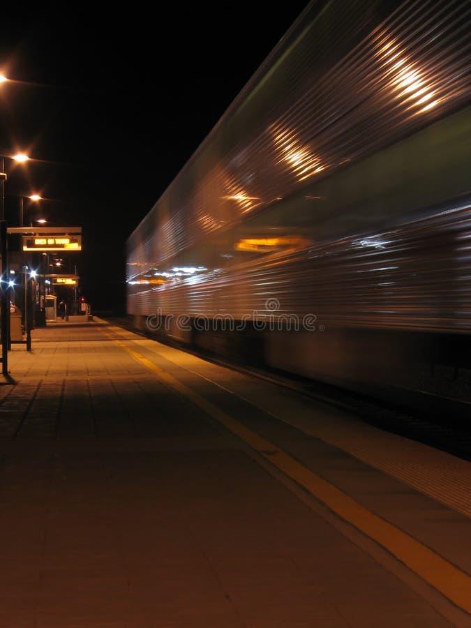 Tren pasado foto de archivo