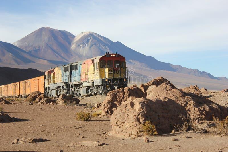 Tren salvaje foto de archivo
