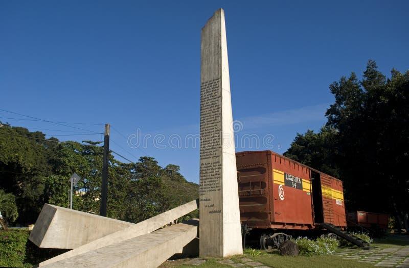 Tren, Santa Clara, Cuba fotografía de archivo