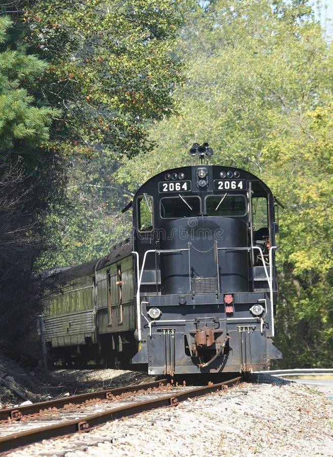 Tren turístico imagen de archivo