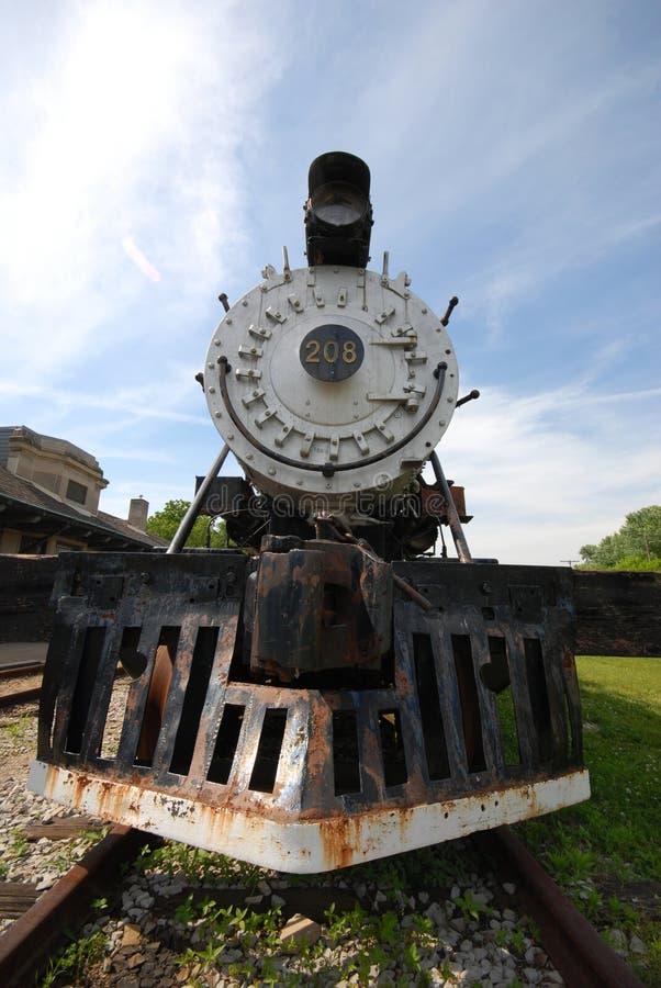 Tren viejo fotos de archivo