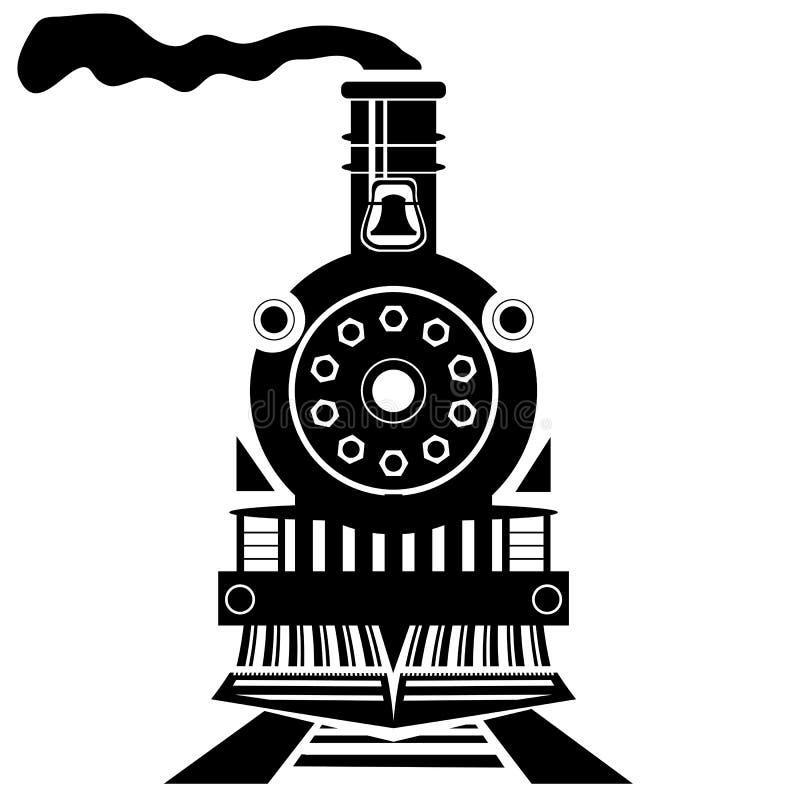 Tren viejo stock de ilustración