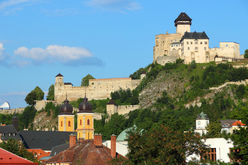 Trencin, Σλοβακία στοκ εικόνα με δικαίωμα ελεύθερης χρήσης