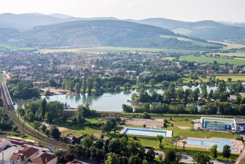 Trencin Slowakije royalty-vrije stock fotografie