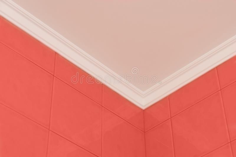 Trend concept color of the year 2019 Living Coral stock photo