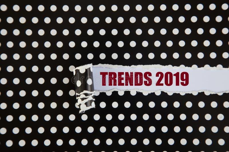 Trendy 2019 zdjęcia stock