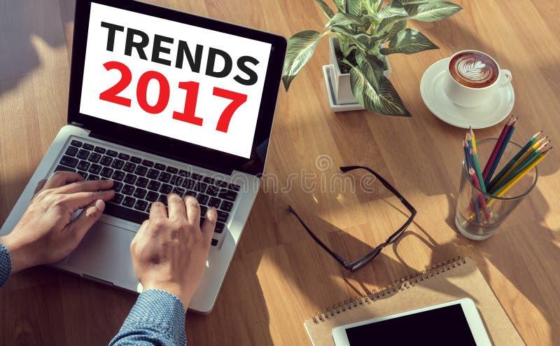 Trendy 2017 zdjęcia royalty free