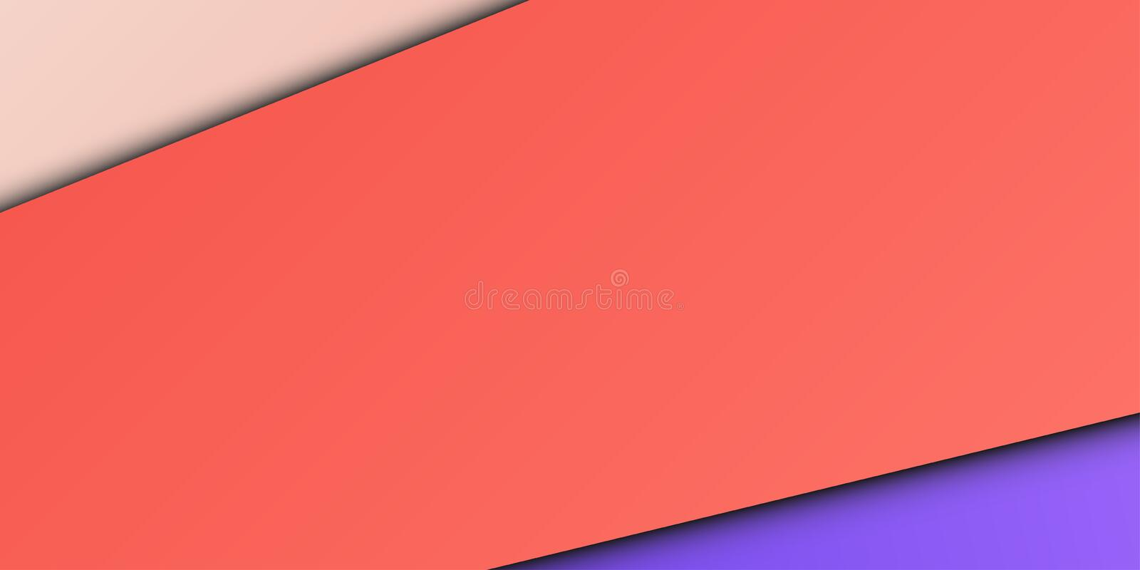 Trendy abstract design background advertisement mock up stock illustration