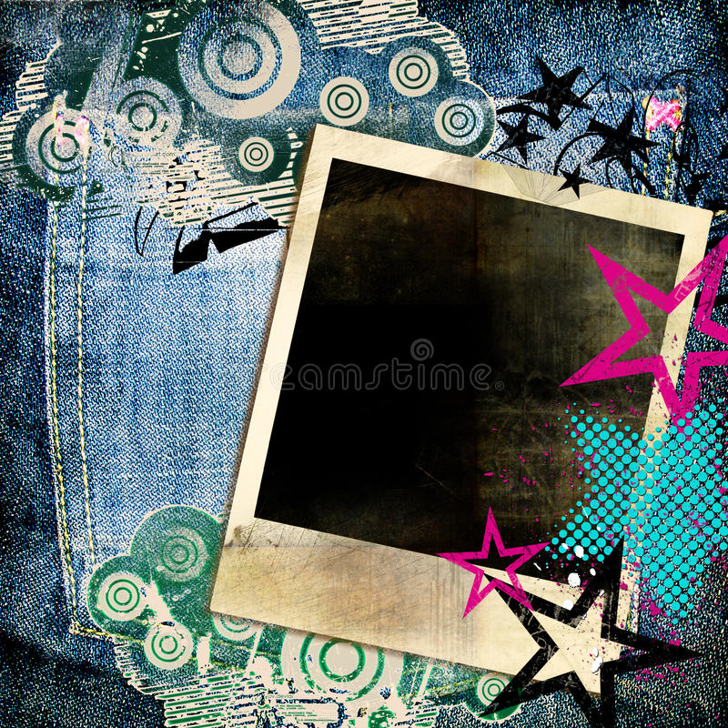 Trendy background royalty free illustration