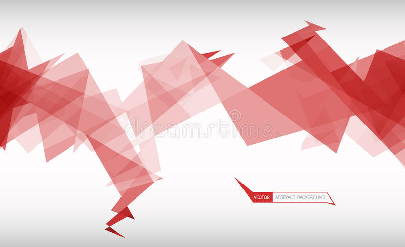 Download Trendy Banner From Abstract Triangles Stock Vector - Image: 83718175