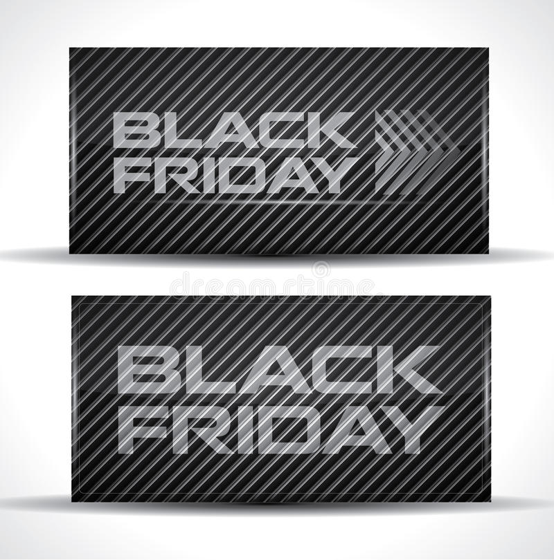 Download Trendy Black Friday card stock vector. Image of market - 27437696
