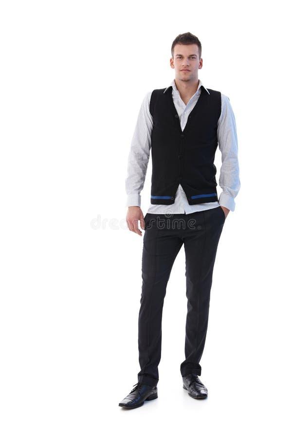 Trendy businessman