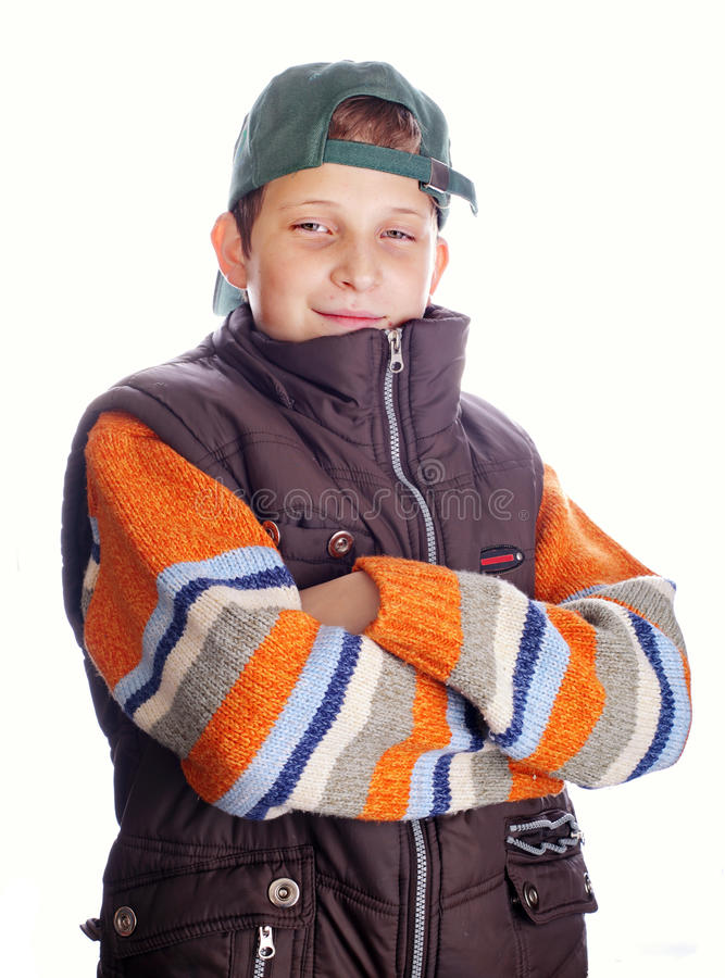 Download Trendy child stock photo. Image of dude, self, human - 24338236