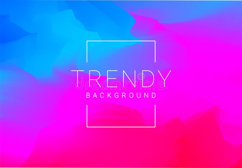 Trendy colourful abstract vector blend background vector illustration