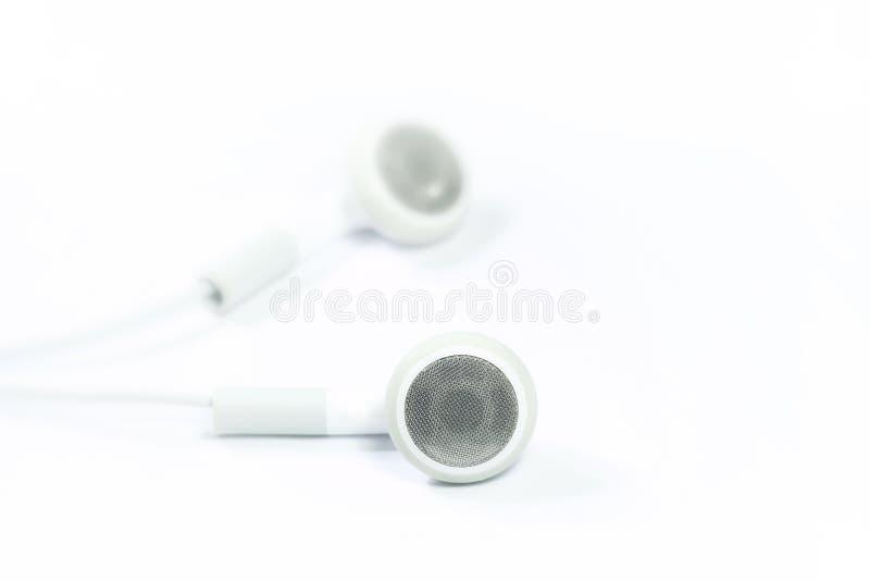 Trendy Earphones stock images