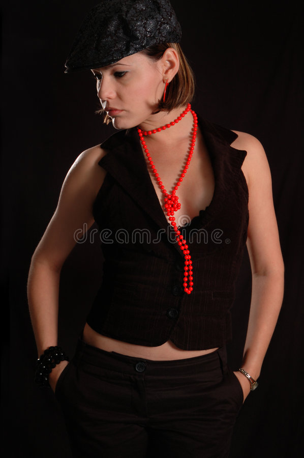 Trendy Female Royalty Free Stock Photo