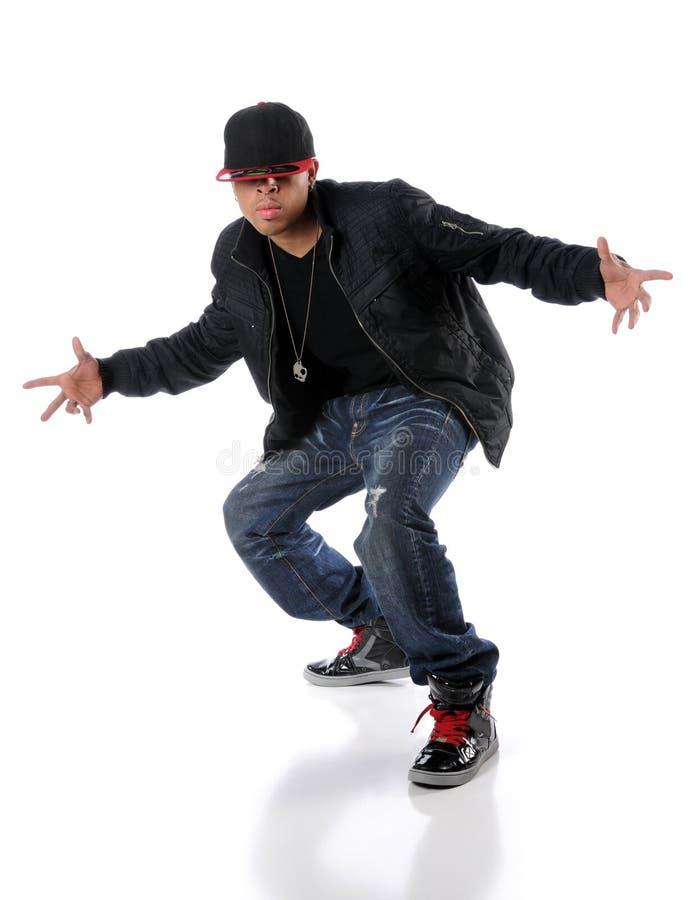 Trendy Hip Hop Man stock images