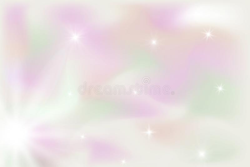 Trendy Holographic abstract background with gradient mesh. royalty free illustration
