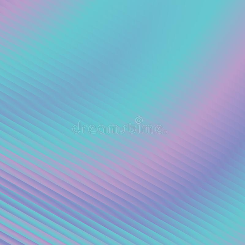 Trendy holographic neon rainbow abstract background. vector illustration
