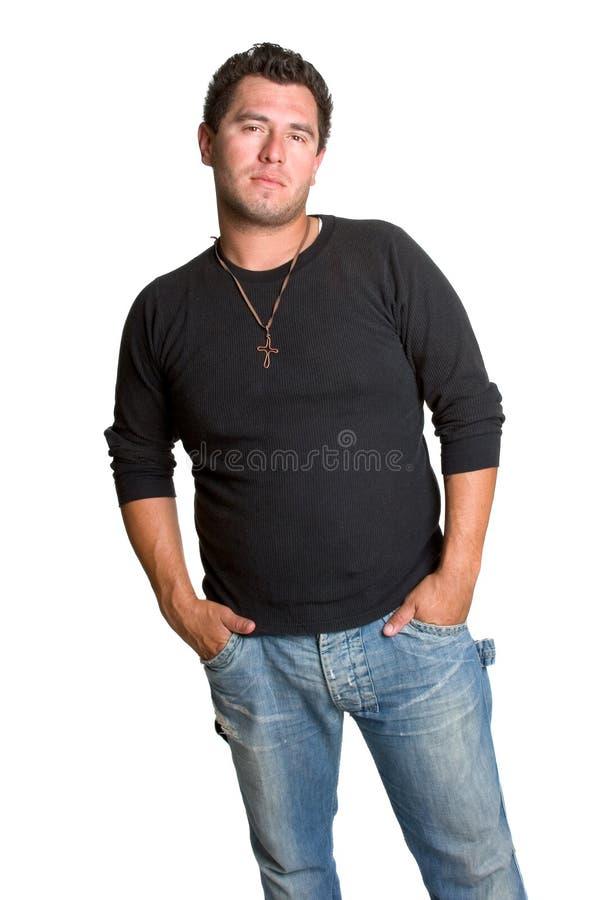 Trendy Jonge Mens royalty-vrije stock afbeeldingen