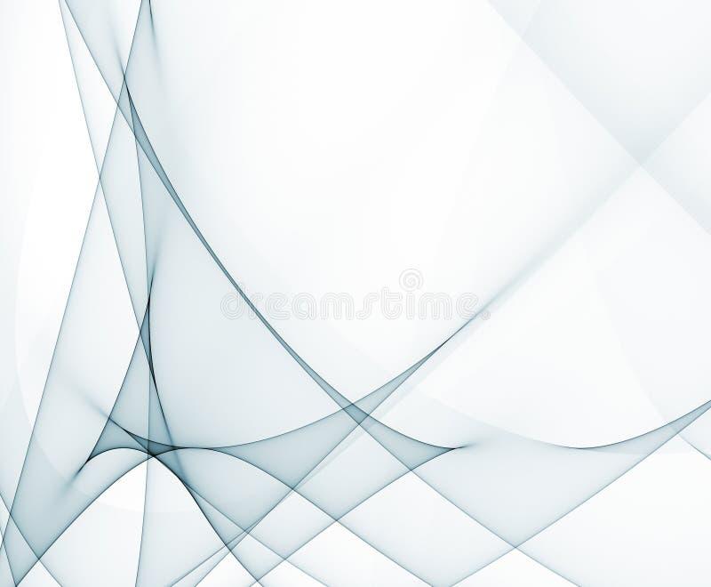 Trendy Luminescent Backdrop Wallpaper royalty free illustration