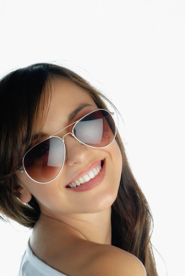 Trendy meisje royalty-vrije stock foto