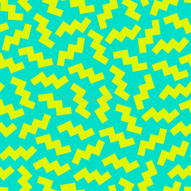 Trendy Memphis pattern. Retro style. royalty free illustration