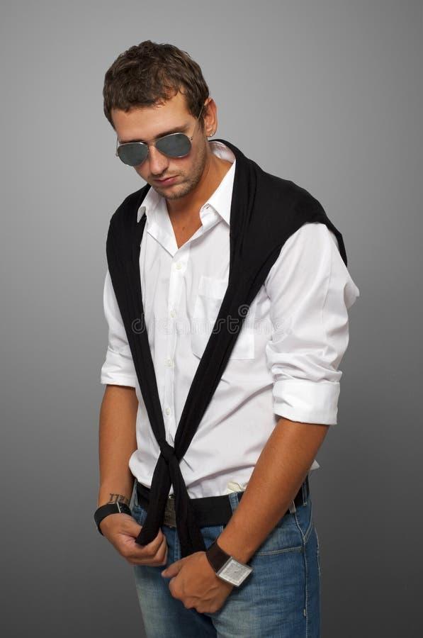Download Trendy mens stock afbeelding. Afbeelding bestaande uit volwassen - 10782489