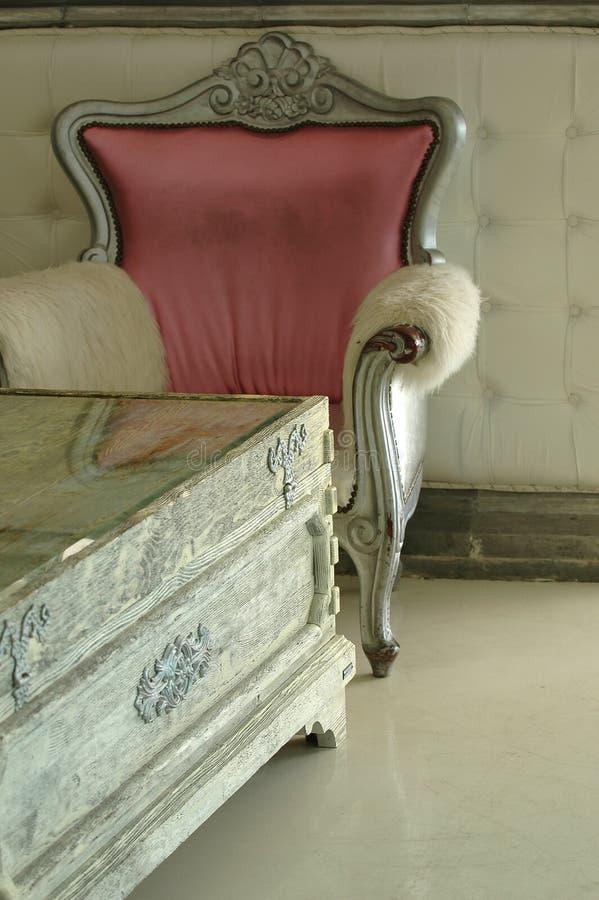 Trendy meubilair royalty-vrije stock afbeeldingen