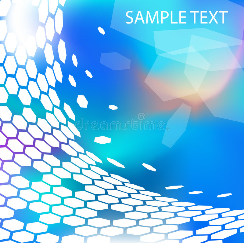 Trendy modern technical background vector illustration