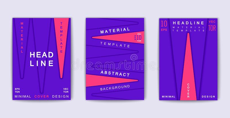 Trendy Poster Designs: Trendy Poster Design With Abstract 3D Shapes. Composition