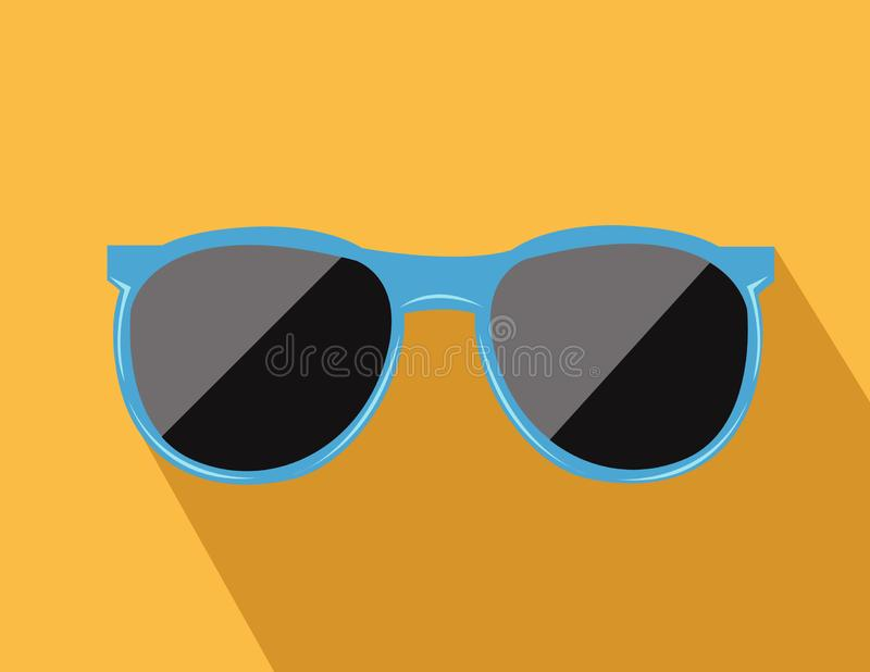 Trendy sunglas vector illustration royalty free stock photos
