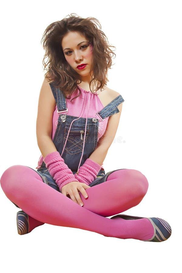 Trendy tiener stock afbeelding