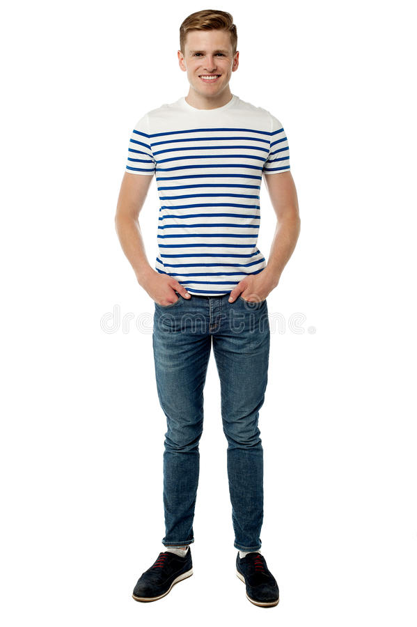 Trendy Young Smart Guy Royalty Free Stock Images