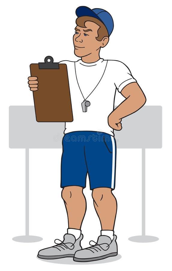 trenerze ilustracji