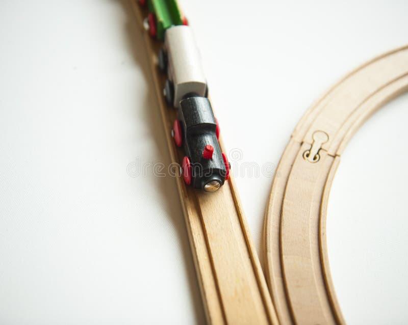 Trenes del juguete fotografía de archivo