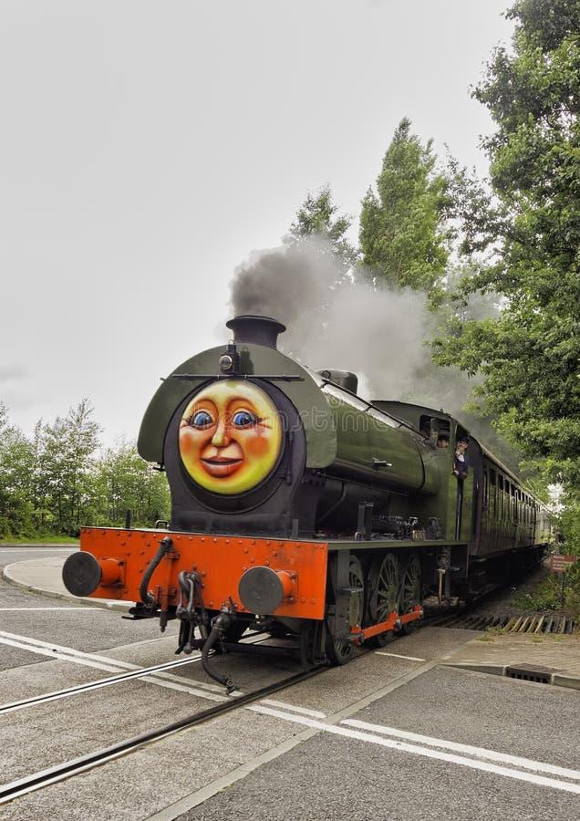 Trenes del vapor fotografía de archivo libre de regalías