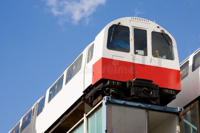 Treni di Shoreditch immagine stock libera da diritti
