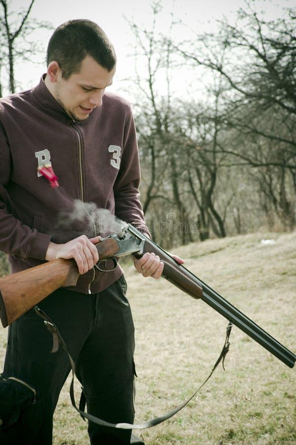 trening strzelania zdjęcia stock
