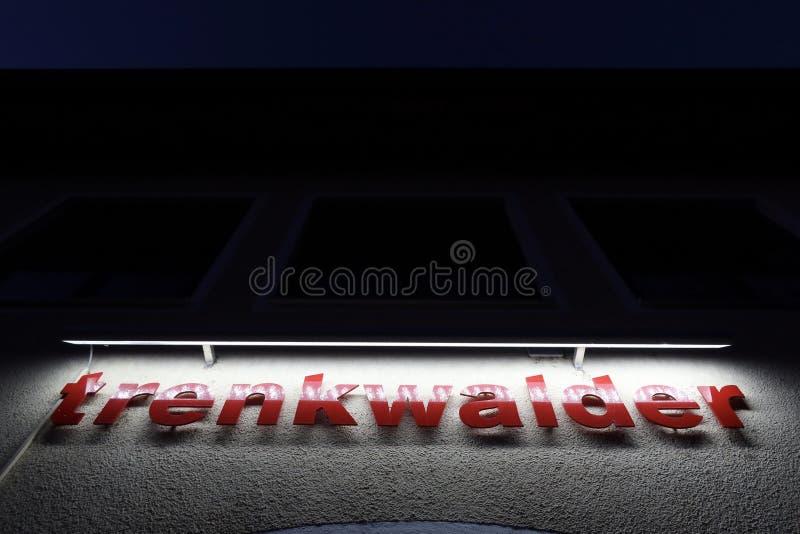 Trenkwald de noche fotos de archivo libres de regalías