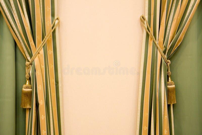 Trennvorhänge stockfoto